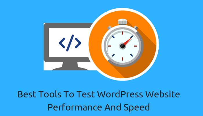 wordpress performance test