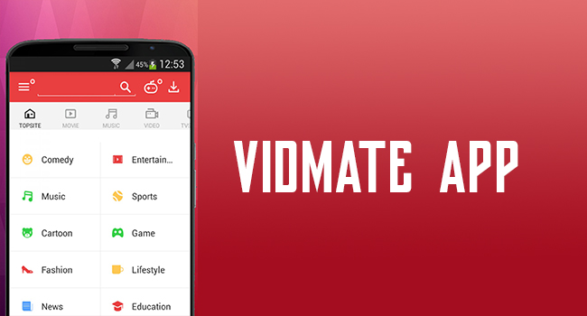 Vidmate App Download Install New Version
