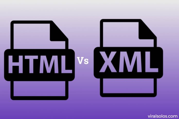 HTML and XML